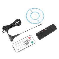 Hot Jual Aksesoris Teknologi USB 2.0 FM DAB DVB-T R820T Dukungan SDR HDTV TV Stick Tuner Receiver dengan Antena- INTL