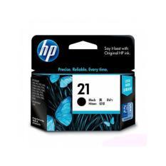 HP Cartridge 21 - Hitam