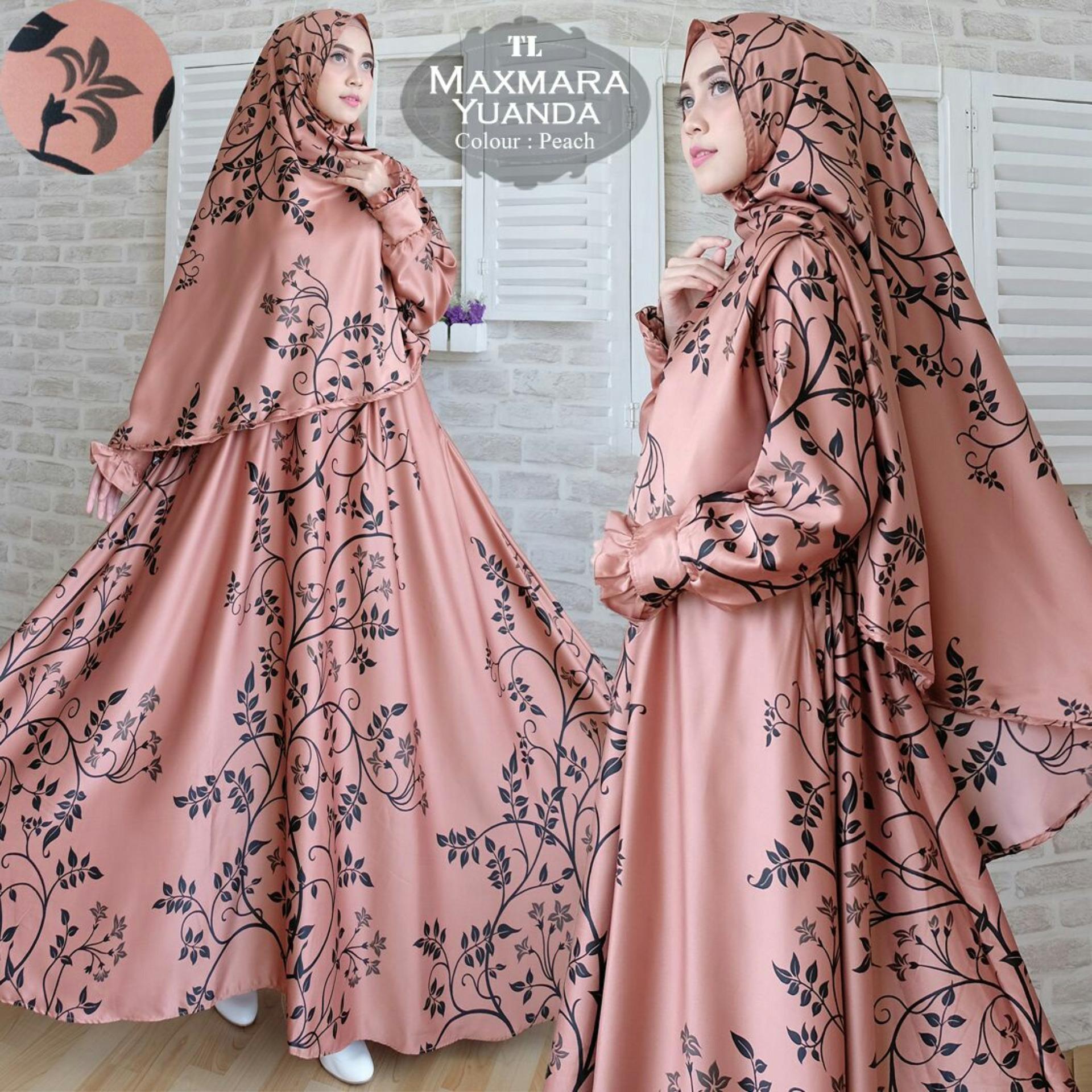 Ofashion Pakaian Muslim AX-5051 Gamis Dokalyn Bubble Gaun Lebaran Muslimah -. Source ·