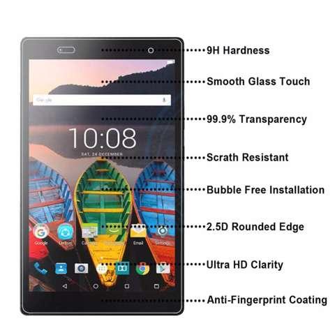 Icantiq Temper Glass Lenovo Tab 3 730X Ukuran 7.0 Inch Tempered Glass Anti Gores Kaca 9H
