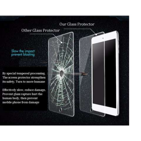 Icantiq Temper Glass Samsung Galaxy Tab 4 Ukuran 7.0 Inch SM - T230 / T231 Tempered