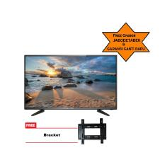 ICHIKO SMART TV LED 55inch Ultra HD 4K Curve Basic (model ST5596) Free Bracket