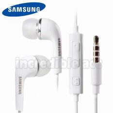 Incredible Headset Samsung Stereo Headset Flat Cable For Samsung All Type - Putih
