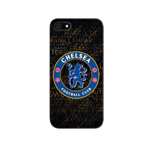Indocustomcase Chelsea Logo Apple iPhone 5/5S Custom Hard Case - Multicolor