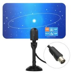Indoor Antena TV Digital PAL Standar 1080 P Analog VHF/UHF Sinyal Digital IEC Konektor untuk HDTV/DTV Hanya untuk Vietnam Malaysia Singapura Indonesia Thailand-Intl
