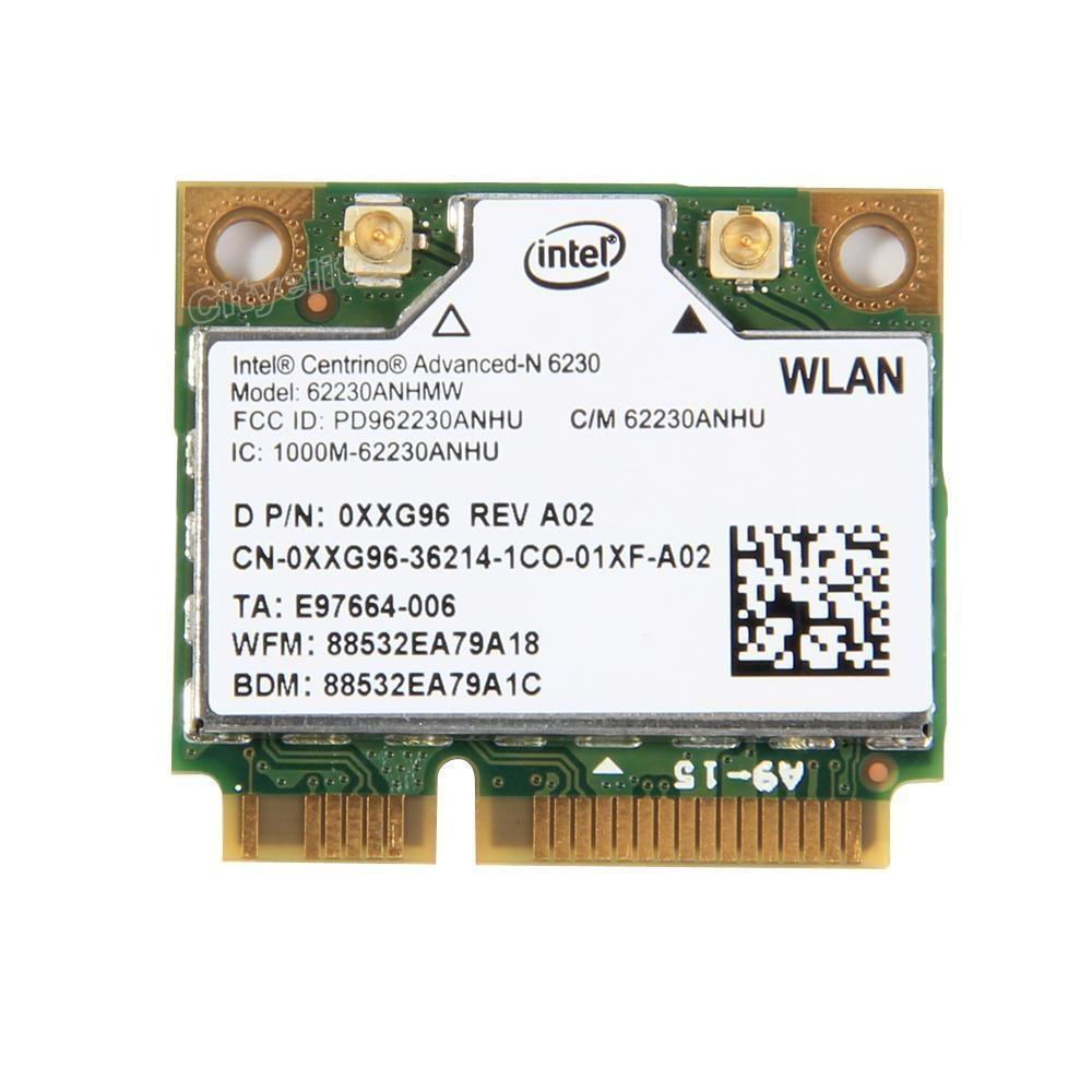 Intel Centrino Advanced-N 6230 62230ANHMW WiFi+Bluetooth BT Wireless PCI-E Card