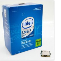 Intel Prosesor Core 2 Duo E8500 Tray 3.16 Ghz Dengan Fan Original [Silver]