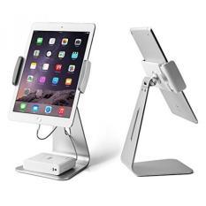Ipad Pro Stand Holder, Kupx Sudut Bisa Disesuaikan Aluminium Holder Stand untuk Tablet, IPad Pro, IPad Air, IPad Mini, Samsung Tab, Microsoft Surface Pro 4 dan Semua 7-12 Inch Universal Silver