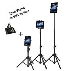 Ipad Tripod Mount Floor Stand, Weiyudang Tinggi Bisa Disesuaikan 20 Sampai 60 Inch Tablet Tripod Stand Mount untuk IPad, IPad Mini dan Lainnya Dalam 7-10 Inch, Jinjing Case Includeed (Classic Tripod)