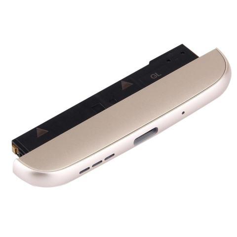 I Parts Beli For LG G5/H840/H850 Bawah (Pengisian Dock + Mikropon + Speaker Ringer Buzzer) Modul (Emas) 3