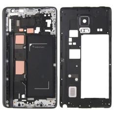 Ipartsbuy Penuh Kerangka Sarung (Depan Kerangka LCD Bezel Piring + Bezel Bingkai Tengah) untuk Samsung Galaksi Note Sisi/N915 (Hitam)-Internasional