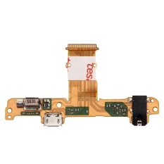 IPartsBuy Huawei MediaPad 10 Link+ / S10 Earphone Jack Flex Cable and Charging Port Flex Cable - intl