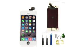 (XP! Hidup XP Layar LCD Sentuh Bingkai Untuk) For Berani Menavigasi Apple IPhone 5-4,0 Inci Layar LCD Touch Digitizer Layar Bingkai Penuh Majelis Pengganti Layar With Perbaikan Alat Set-ต่างประเทศ