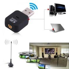 Justgogo USB DVB-T Digital TV Receiver Tuner Stick Dongle OSD MPEG-2 MPEG-4 For Laptop PC