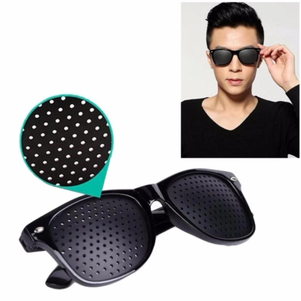 Kaca Mata Terapi Pin Hole Daftar Harga Terlengkap Indonesia Kacamata Pinhole Glasses Original Mengatasi Minus Plus Silinder Sunglasses