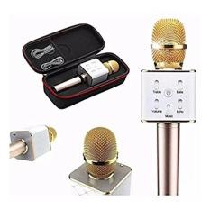 Kado Unik-- Mic Caraoke Wireless Q7 / Mic Smule / Mix Wireless Bluetooth / Mix Karaoke Murah