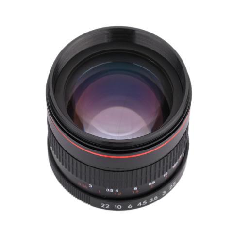Kelda 85 mm f/1,8 fokus Manual potret lensa untuk Canon 80D 7D 70D 750D 760D 6D 60D 600D 50D 500D 550D 5D 5D2 5D3 450D EF gunung Digital SLR kamera 7