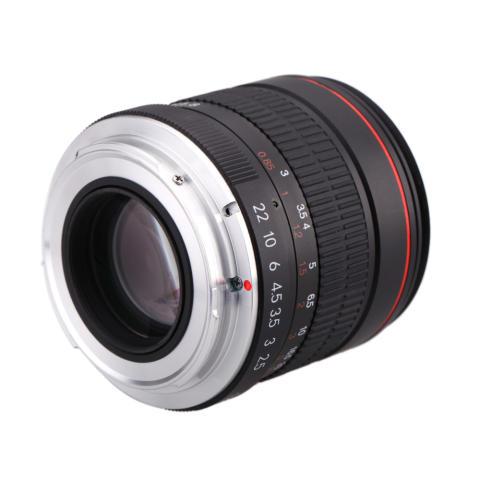 Kelda 85 mm f/1,8 fokus Manual potret lensa untuk Canon 80D 7D 70D 750D 760D 6D 60D 600D 50D 500D 550D 5D 5D2 5D3 450D EF gunung Digital SLR kamera 5