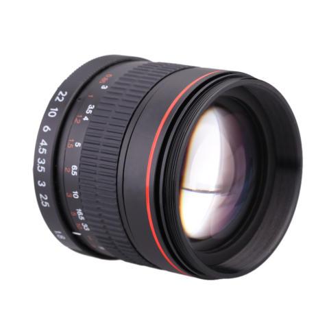 Kelda 85 mm f/1,8 fokus Manual potret lensa untuk Canon 80D 7D 70D 750D 760D 6D 60D 600D 50D 500D 550D 5D 5D2 5D3 450D EF gunung Digital SLR kamera 4