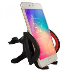KUCHANG Universal Smartphone Car Air Vent Mount Holder Cradle With A Quick Release Button For iPhone 6 6+ 6S 6S Plus 5S 5,iPod Touch,Samsung Galaxy S5 S4/3 Note 2/3,Nexus,Nokia,LG G3,HTC,Black