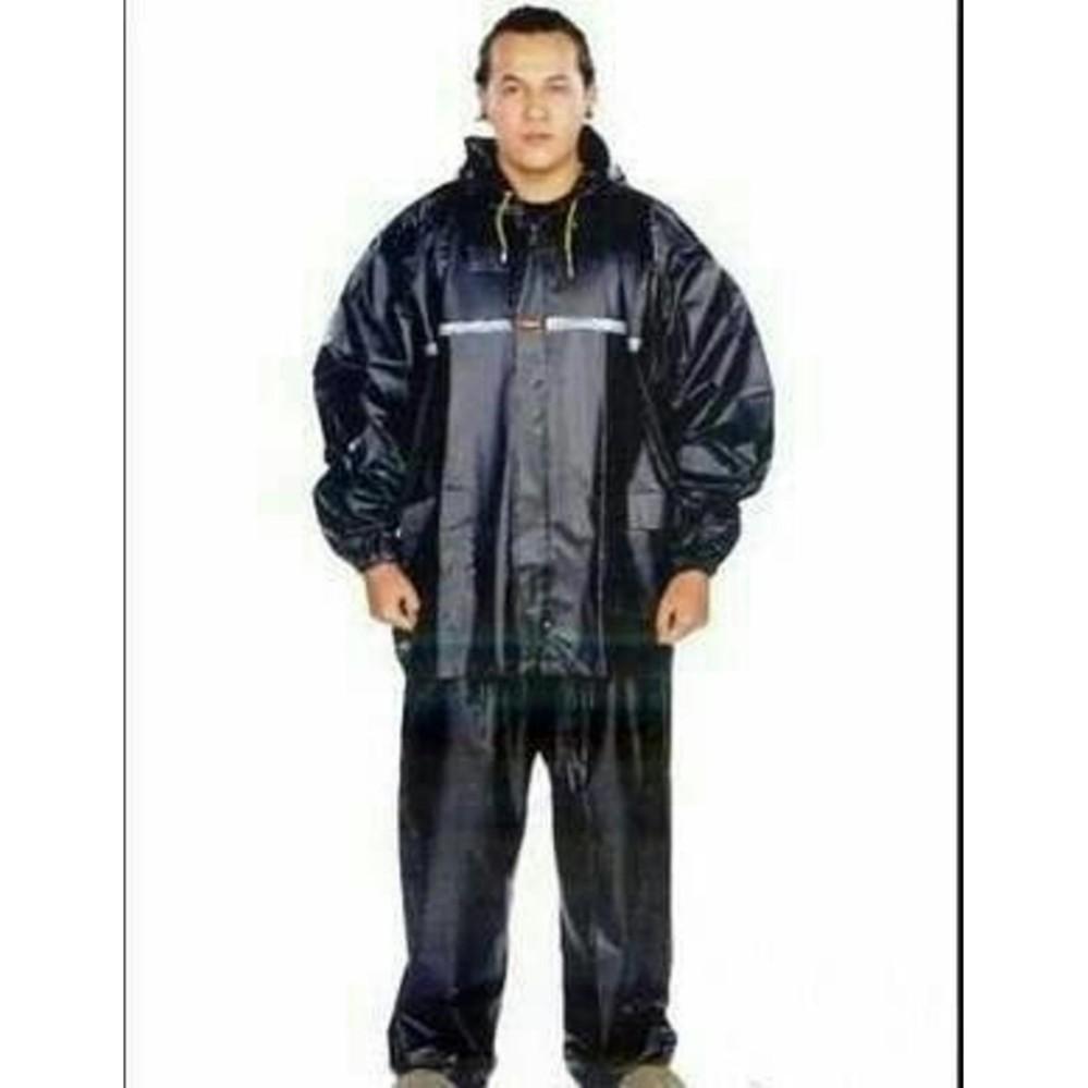 Langit Biru Jas Hujan Stelan SUMO STRECH Tiger Head 68275 UK. SUPER BESAR XXXXXXL
