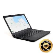 LAPTOP RESMI HP 14-BW - AMD A4-9120 - Ram 4GB - Hdd 500GB - AMD RADEON - DOS - BLACK
