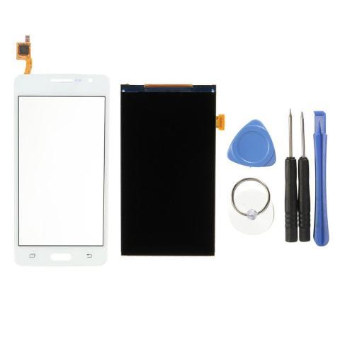 Layar LCD Touch Digitizer Layar untuk Samsung GALAXY GRAND PRIME SM-G531F G531H Putih-