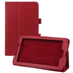 Leather Case Cover Berarti Acer Iconia Tab 7 A1-713 7 & #39 Tablet PC Merah-Intl
