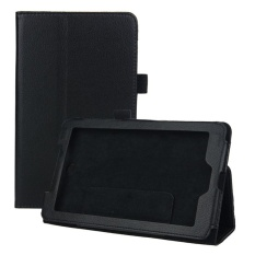 Leather Case Cover Berarti Acer Iconia Tab 7 A1-713 7 Inch Tablet PC Hitam-Intl