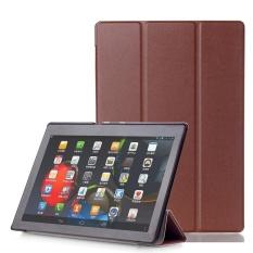 Kulit Case Smart Cover untuk LENOVO Tab3 10 Bisnis (TB3-X70F/N/L) 10.1 Inch BW-Intl