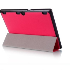 Leather Case Stand Cover untuk LENOVO TAB3 10 Bisnis Hot-Intl