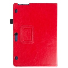 Leather Case Stand Cover untuk Lenovo YOGA Tab 3 10 dan TAB 2 A10-70/30 Tablet RD-Intl