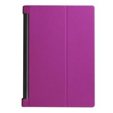 Leather Case Stand Cover untuk Lenovo YOGA Tab 3 Pro 10 X90F Ungu-Intl