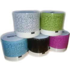 LED MINI Portable Wireless Bluetooth Speaker TF USB Music Sound Subwoofer Box - Random