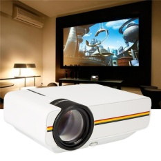 LED Projector Support 1080P Portable Mini Projector Ideal for Home Theater Video Plug : UK - intl