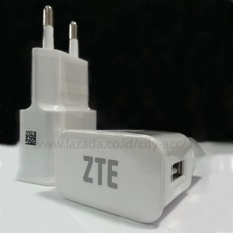 LED Travel Charge Suit For ZTE  ( 2,1 A ) - White
