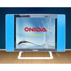 Promo LED TV ONIDA 19 inch Slim Monitor VGA HDMI USB Movie Advertising Murah