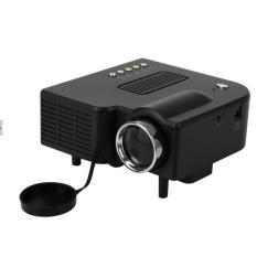 Leegoal Proyektor Mini Portable dengan 1200 Lumens 1080 P HD LCD HDM