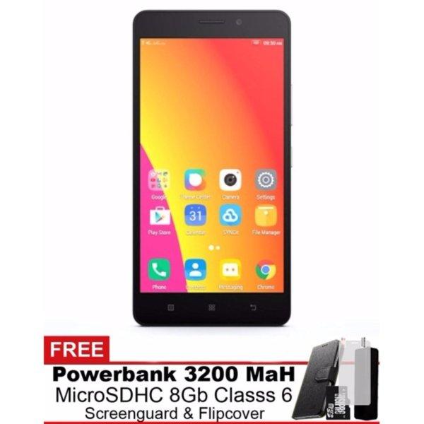 Lenovo A7700 - 55 - 4G -MMC - Power Bank - Flipcover - Screenguard -