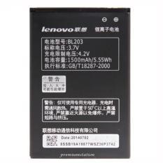 Lenovo Baterai Type: BL-203 High Quality Berkapasitas: 1500 mAh 3.7V Untuk Lenovo: A369i