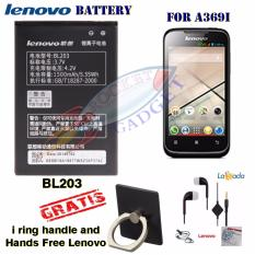 Lenovo Battery BL203 for Lenovo A369i Free i Ring Handle and Hands Free Lenovo