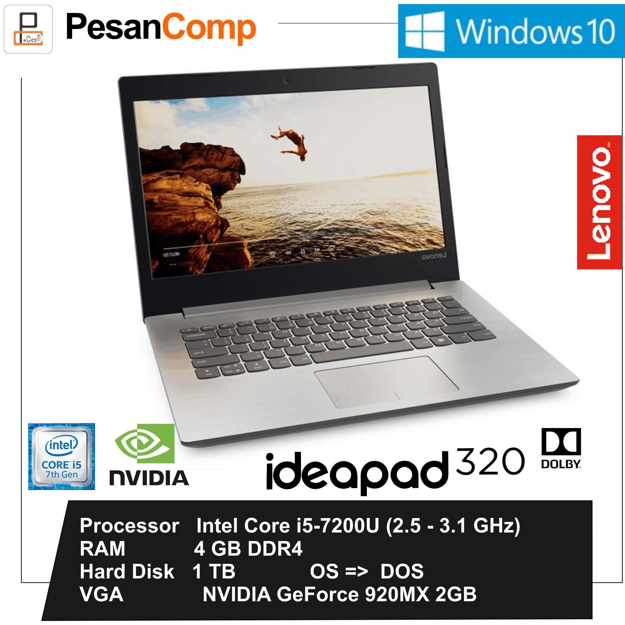 Jual Lenovo Ideapad 320 A12 9720p 8gb 2tb R8 M535dx 4gb 110 05id 14ast 14ikb I5 7200u Geforce 920mx 2gb 1tb