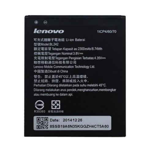 Lenovo Original Battery for Lenovo A6000 / A6010 / BL242 - 2300 mAh