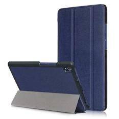 Lenovo Tab3 8 Plus / Lenovo P8 (2016) Case - Ultra Slim LightweightSmart-shell Stand Cover for Lenovo Tab3 8 Plus / Lenovo P8 (2016)Tablet (dark blue)