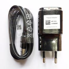 LG MCS-04ED Original Travel Charger 1.8A Fast Charging - Hitam