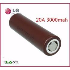 LG Original Battery Baterai Vape Vapor HG2 3000mAh 20A - 18650