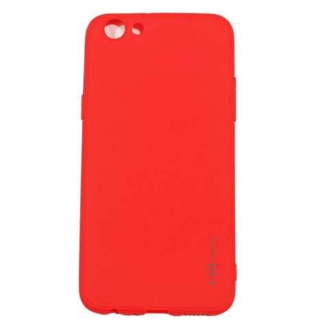 Lize Case Vivo Y53 Rubber Silicone Anti Glare Skin Back Case / Silikon Vivo Y53 / Jelly Case / Ultrathin / Soft Case Slim Red Matte Vivo Y53 / Casing Hp ...