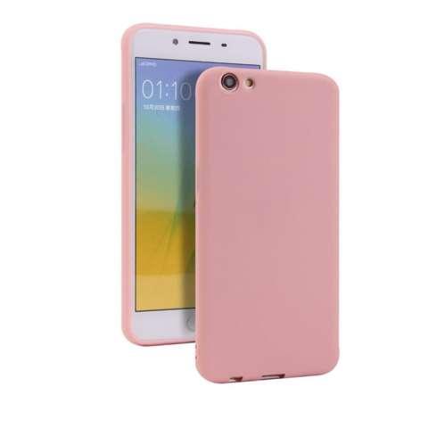 Lize Case Vivo Y69 Rubber Silicone Anti Glare Skin Back Case / Silikon Vivo Y69 / Jelly Case / Ultrathin / Soft Case Slim Pink Matte Vivo Y69 / Casing Hp ...