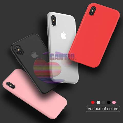 Lize Jelly Case Apple iPhone X Candy Rubber Skin Soft Back Case / Softshell / Silicone