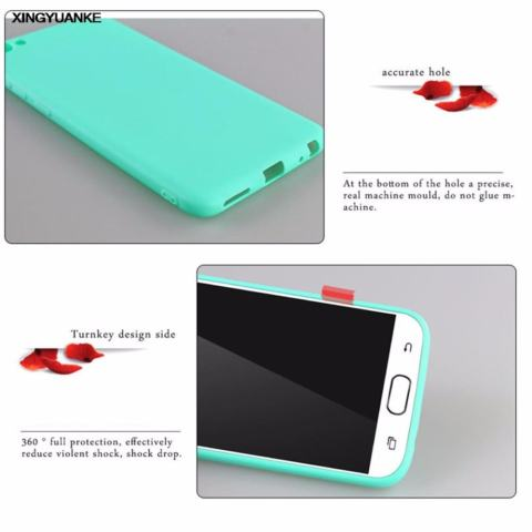 Icantiq Lize Jelly Case Samsung Galaxy A6 Plus 2018 Candy Rubber